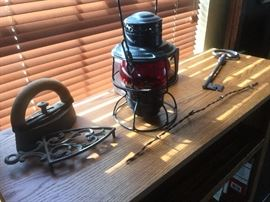 Union Pacific RailRoad Lamp