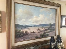 Landscape by Texas Artist  R. Enright