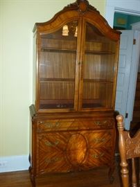 Beautiful matching china cabinet
