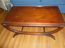 Vintage mahogany table