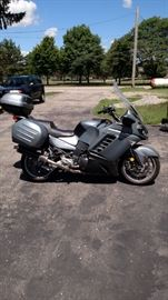 2008 KAWASAKI 1400CC CONCORD MOTORCYCLE