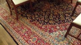 """one of many Persian hand knotted rugs  14 x 10'6"""" $1,600"""