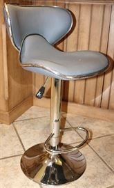Modern Adjustable Counter Stool, 1 of 4