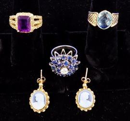 Gold Jewelry  - 18k & 14k