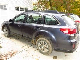 2014 Subaru Outback -  44K miles