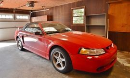 $12,900. 50k miles. 1999 Mustang Cobra SVT Convertible