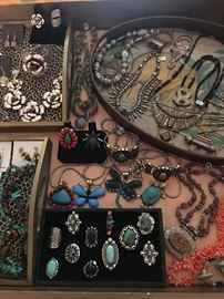 Jewelry from Africa, Tibet and the United States, all 50% off!