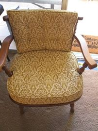 Older Style Maple-Frame Chair