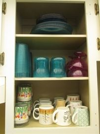 Mugs, Dishes and Glasses