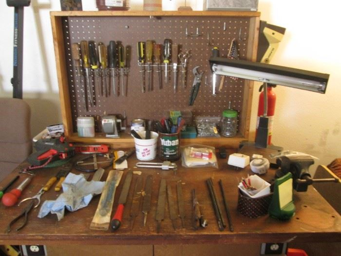 Old Work Table/Cabinet