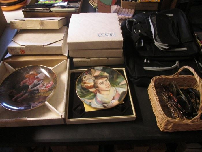 Collector Plates by Hummel & Knowles, boxed