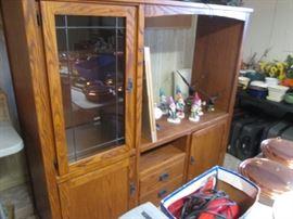 Entertainment Unit, Storage, Display and TV Cubbie
