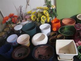 Vases, Pots & Florals