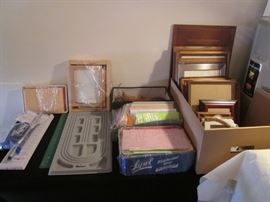 Picture Frames, Office Supplies