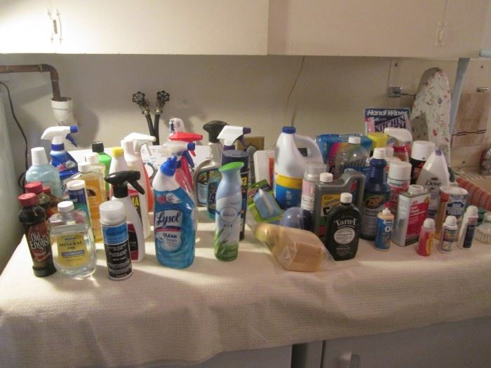 Chemicals & Cleaning Supplies
