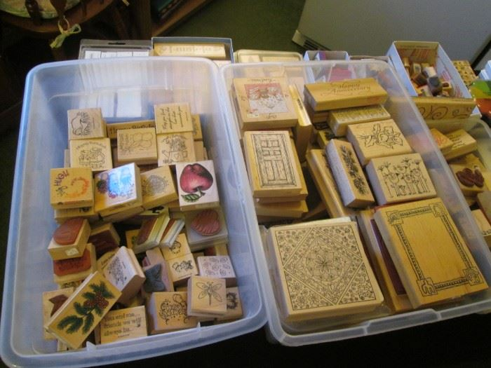 Wooden Stamps, come and get them!!!