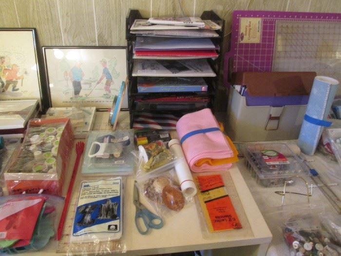 Assorted Craft Supplies