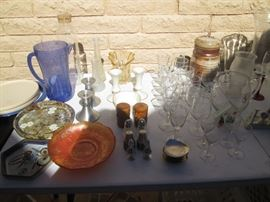 Candlesticks, Stem Ware, Vases, Salts/Peppers
