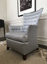 "11) Lewis James/Rosselli ""Leuwellyn"" High Back Arm Chair"