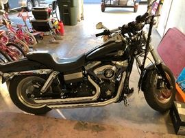 2008 Harley-Davidson Fat Boy cycle Beautiful black!