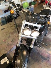 2008 Harley Davidson... also have Harley-Davidson leather saddle bags, rear passenger back bar.....