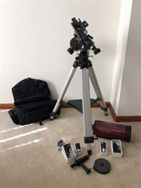 Orion Telescope Lens and Tripod and More Lens