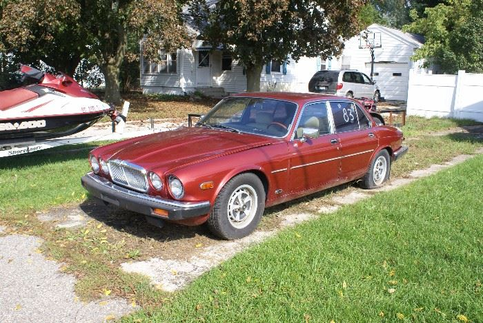 1983 Jaguar Runs & Drives