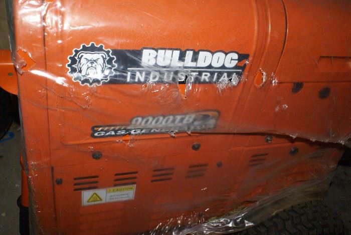 """BULLDOG 9000TB Gas Generator """"NEW"""""""