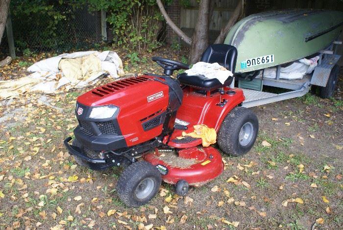 Craftsman Riding Lawn Mower Runs & Mows