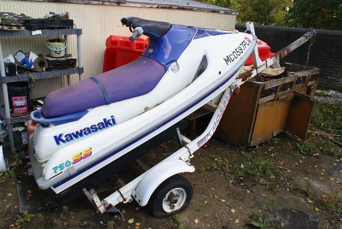750SS Kawasaki Jet Ski