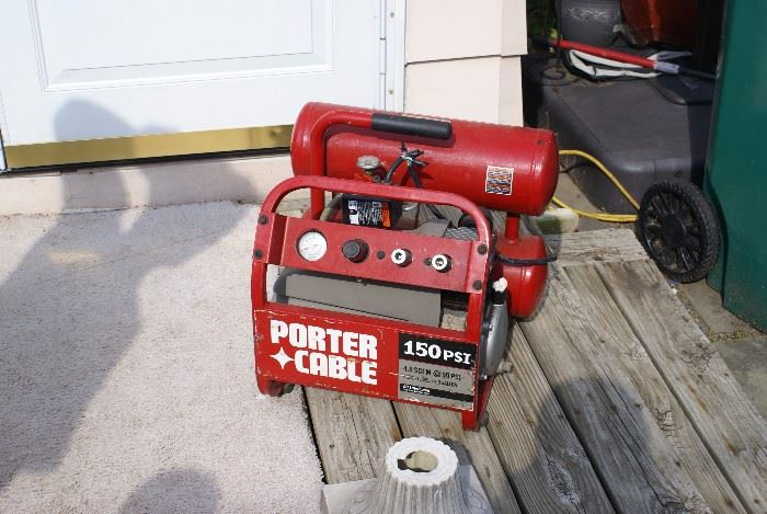 Porter Cable 150 PSI Electric Air Compresser