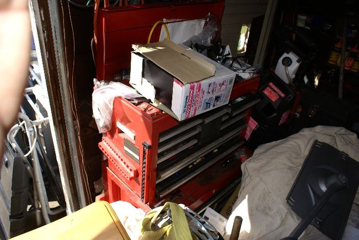 Stacking Tool Boxes