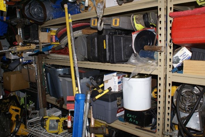 Power Tools In Tool Cases