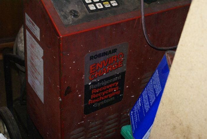 Robinair Refrigerant Recovery System