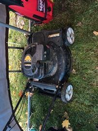 Push Gas Mower
