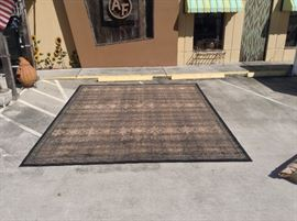 Espresso Black Area Rug; 12' x 15'; Made in Egypt by Mystique; $400; ref #: 19912
