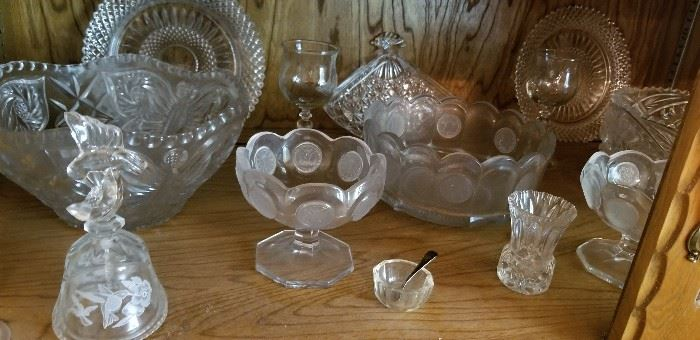 Coin glass and other goodies