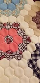 Hand made 60's quilt