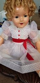 Large vintage Shirley Temple doll