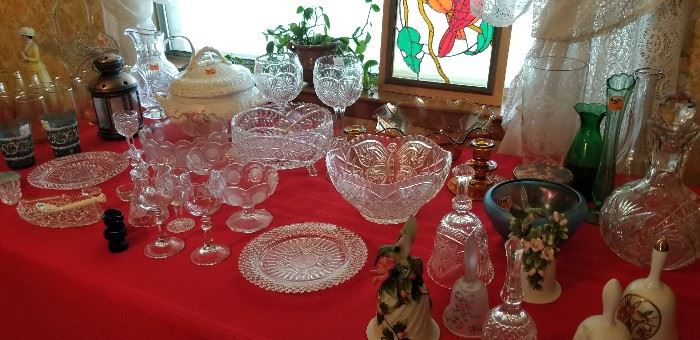 Lots of crystal and other goodies