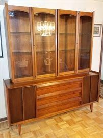 Mid mod china cabinet (Lane furniture)