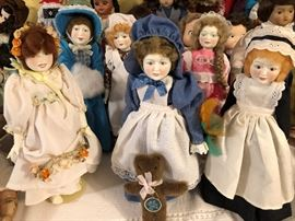 Royal Doulton Dolls with boxes