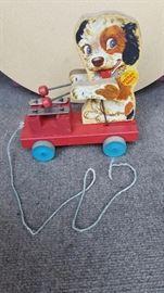 Vintage pull toys