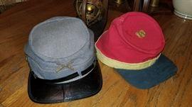 Authentic Confederate hats
