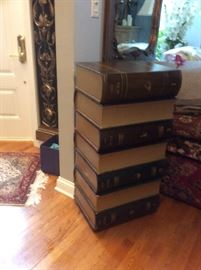 #107  Stack of Books CHEST of drawers.     $350.
