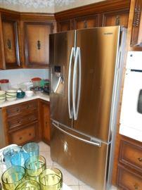 Samsung 3 door stainless steel fridge