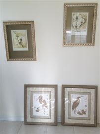 Lots of framed art