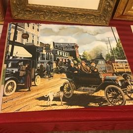 KEN EBERTS FORD 100TH ANNIVERSARY POSTERS