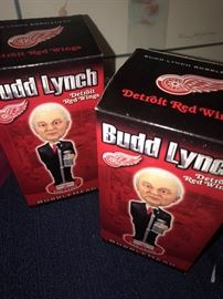 BUDD LYNCH BOBBLEHEADS