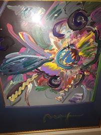 PETER MAX NEW YORK FLOWER SHOW-1999